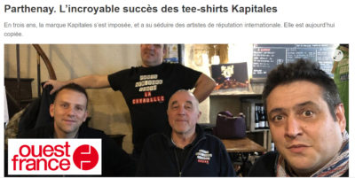 photo article ouest france Kapitales